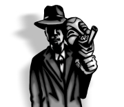 Noir Comedy Mask