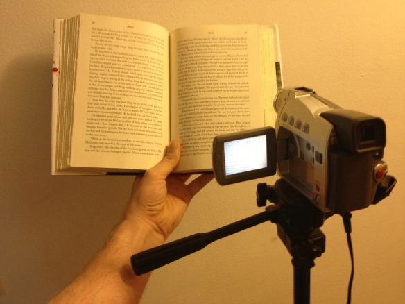 camera and book