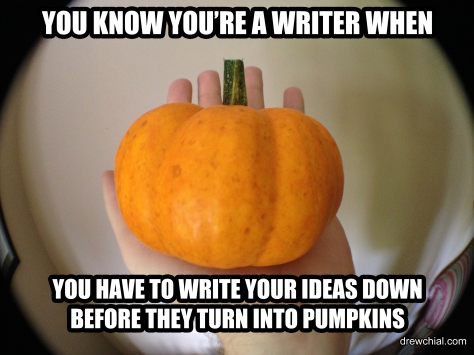 Turn into a Pumpkin