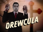 Drewcula has been caught red handed