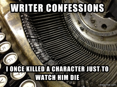 KILLED A CHARACTER