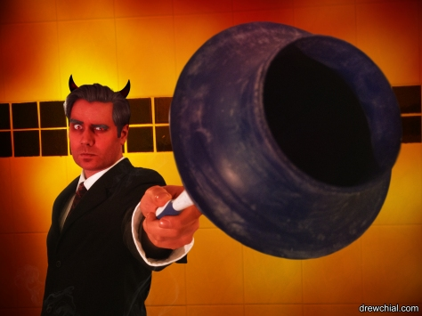 Satan with a Plunger