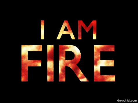 7. I Am Fire Logo